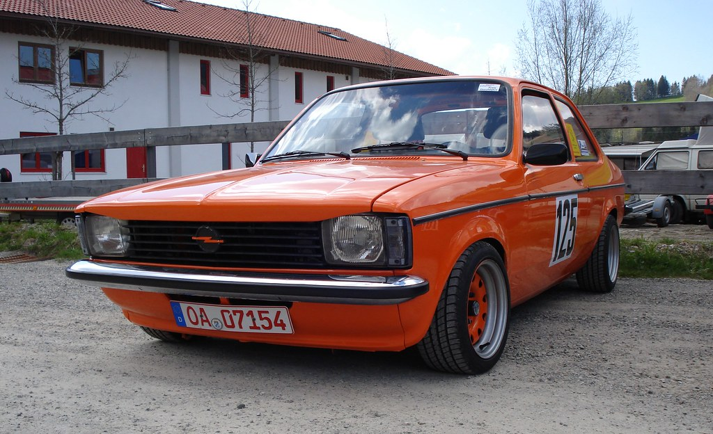 opel kadett c 1977 1979 limousine 2 t rig tuning orange. Black Bedroom Furniture Sets. Home Design Ideas