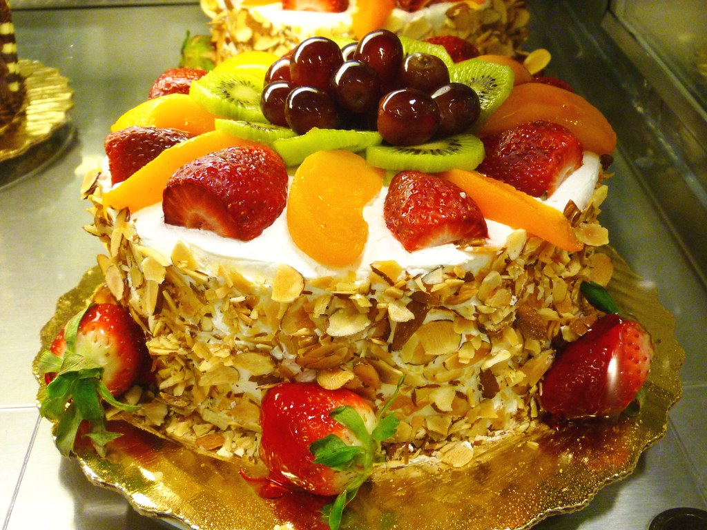 Fruit Cake With Giner And Nutmeg