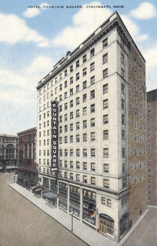 Hotel Fountain Square - Cincinnati, Ohio