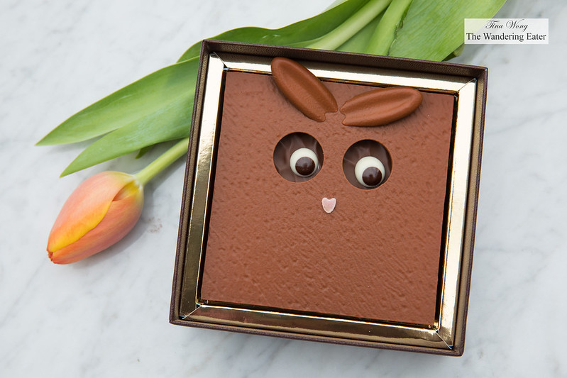 "Easter chocolate ""Monsieur Bunny"" from La Maison du Chocolat"
