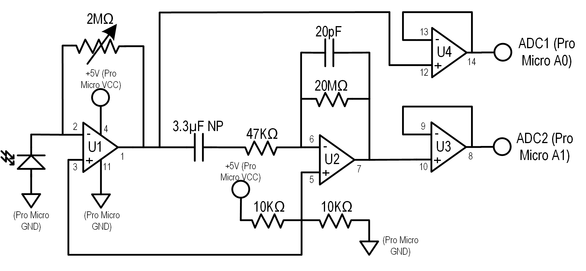 SSSM Circuit Diagram