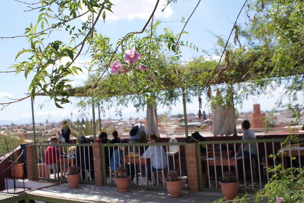 Terrasse panoramique de la Maison de la Photo à Marrakech