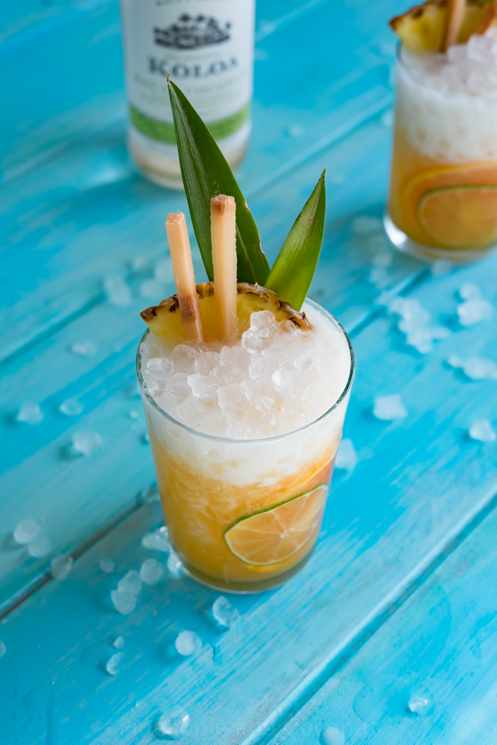 Island Dreamsicle Cocktail www.pineappleandcoconut.com