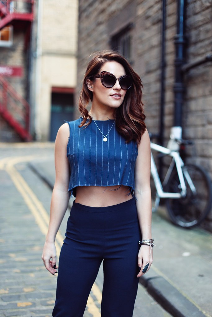 The Little Magpie crop top