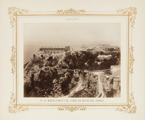 Gibraltar 1888 Fotografía y usos militares