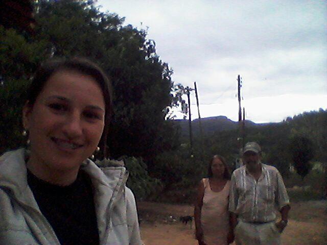 Regina Colhassi visita os produtores do Bairro Motas