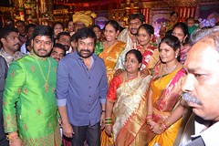 Chinna Srisailam Yadav Daughter Wedding Stills