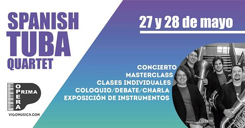 Spanish Tuba Quartet Vigo 2017