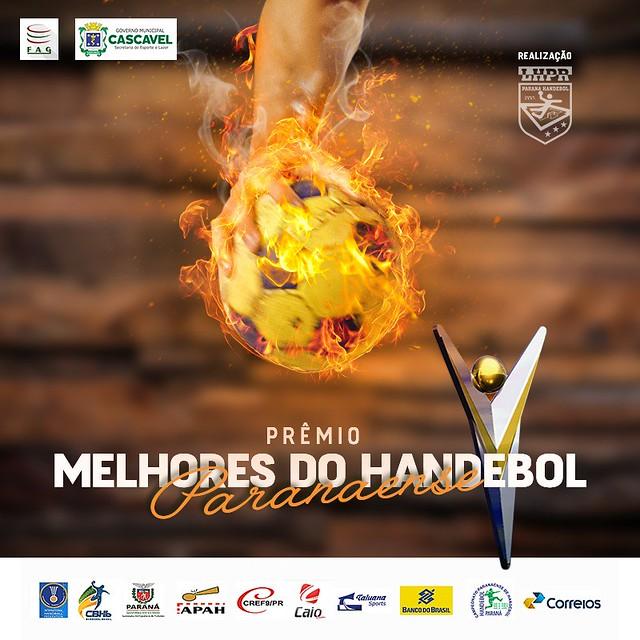 PRÊMIO MELHORES DO HANDEBOL PARANAENSE - ANO 2016