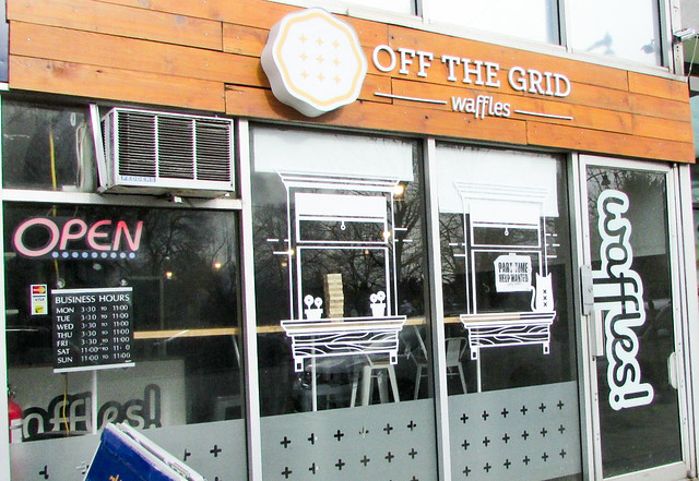 National Waffle Day: Off the Grid Waffles