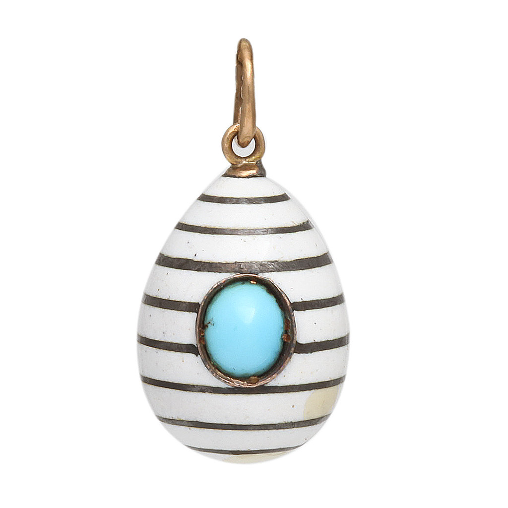 Just in Time for Easter: Fabergé Eggs from A La Vieille Russie - Gem