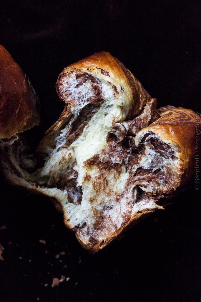 Orange Chocolate Marbled Brioche