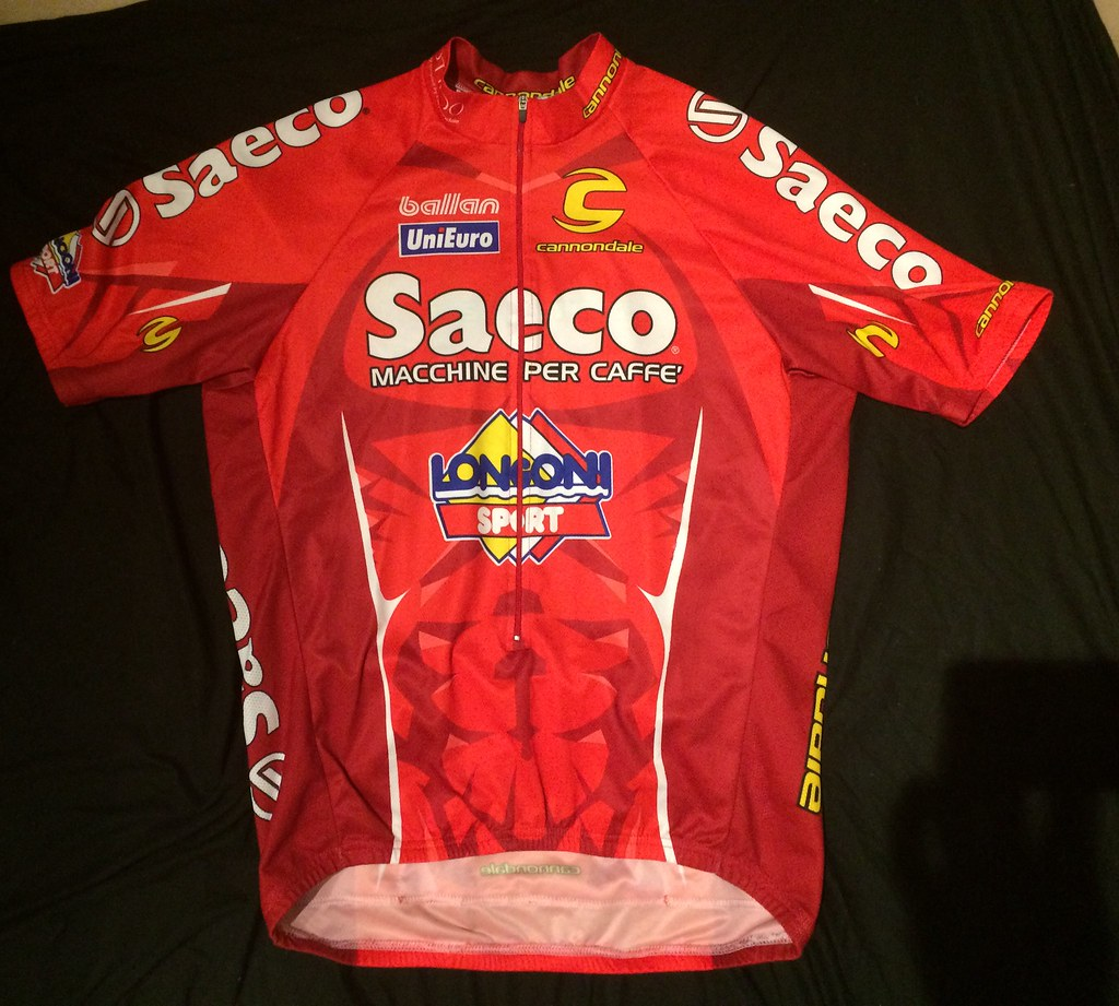 349769c01 Saeco Cycling Jersey