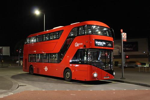 London General LT876 on Route 76, Tottenham Hale Bus Station