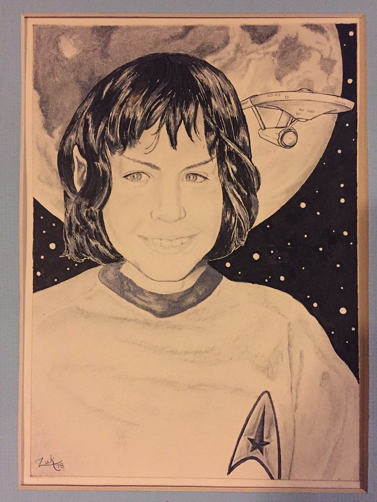 Portrait of the Author as a Young Vulcan