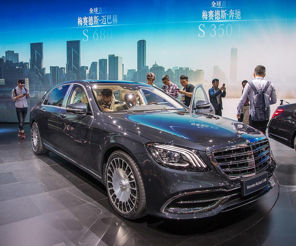 Mercedes benz maybach s680 shanghai 2017 2017 04 0265 for Mercedes benz s680