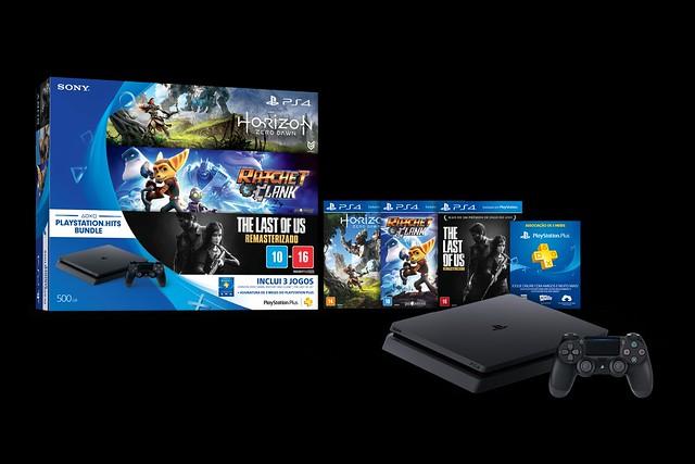 Sony anuncia PlayStation Hits Bundle para o Brasil; conheça 1
