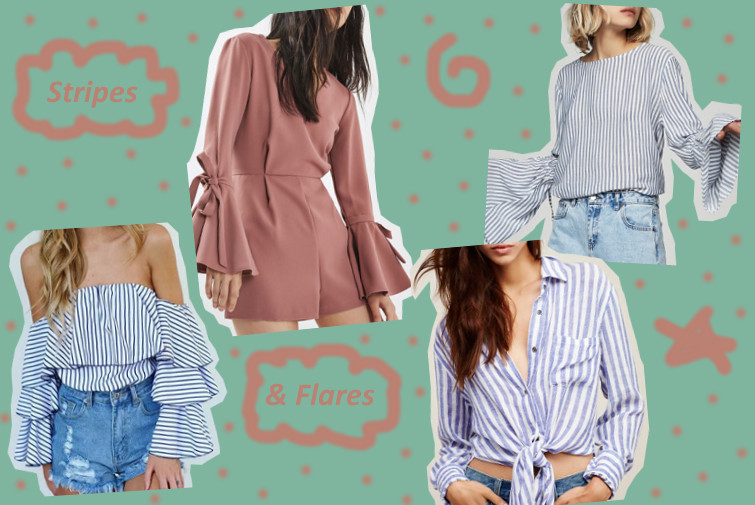 Just fashion now - Stripes & Flares
