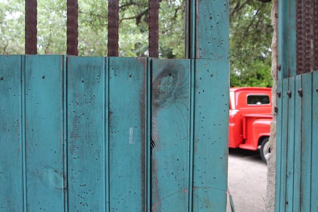 Kim's Teal Gate