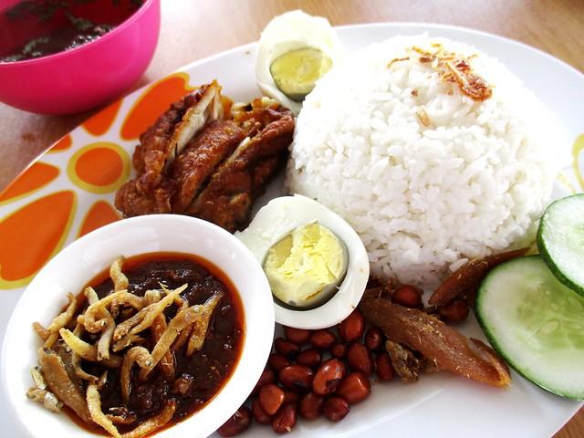 Noor Satay & Food Delight nasi lemak special 1