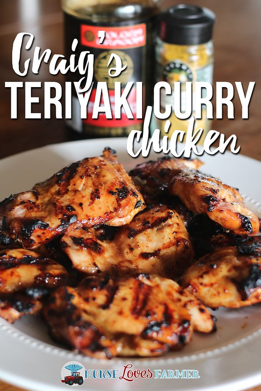 A fusion of flavours from my brother-in-law Craig.You gotta try it to believe how amazing teriyaki curry chicken is on the BBQ!