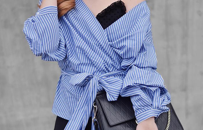 Wrap-Blouse-Striped-4