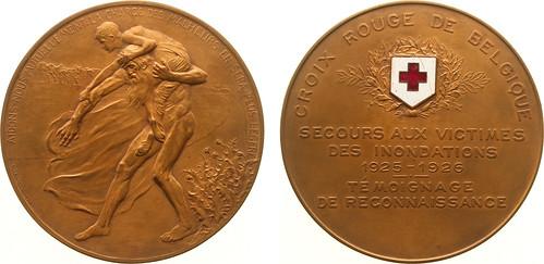 1926 Red Cross Inundartion Lifesaving Medal