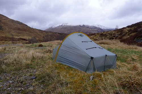 Wild camping near Glen Affric | by Nick Bramhall