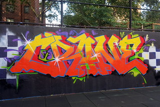 Crane @ the Graffiti Hall of Fame | by LoisInWonderland