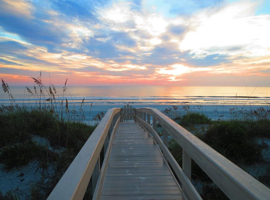 Anastasia Island Florida Beach