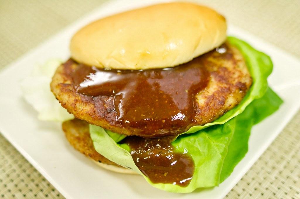 『BBQソース・マックポークダブルバーガー・レシピ』マクドナルドのハンバーガーを勝手