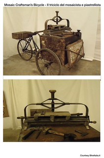 Cargo Bike History: Mosaic Craftsman's Bicycle | by Mikael Colville-Andersen