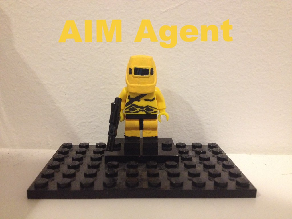 Custom Lego AIM Agent | He now waits for 2014 for his ...