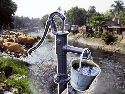 दूषित पानी से पनप रही हैं बीमारियाँ