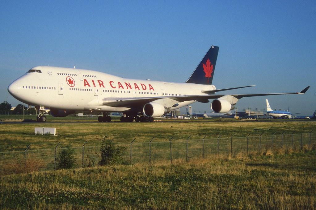 145ao Air Canada Boeing 747 400 M C Gagl Cdg 11 08 20