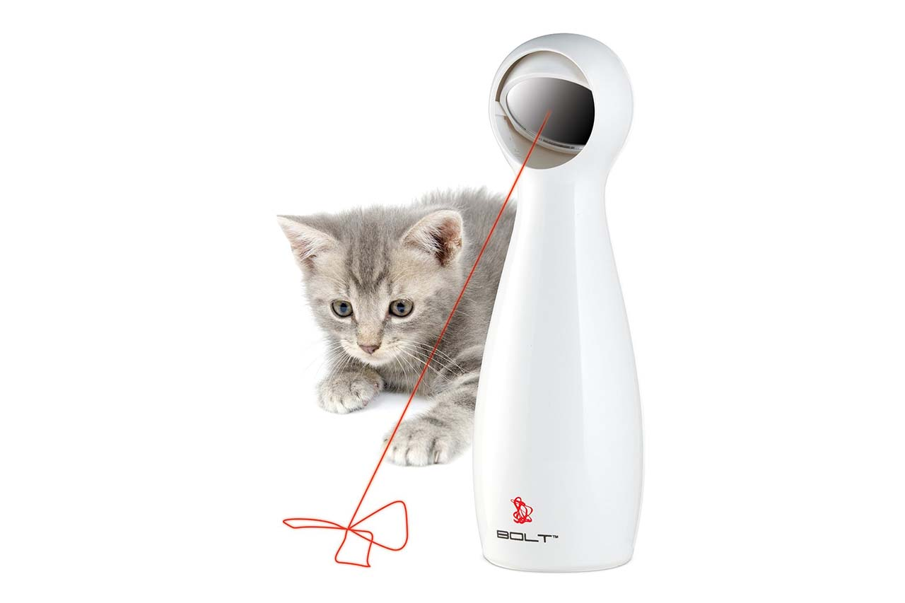 11 Classy Items You Can Buy Under $20 On Amazon #7: Interactive Laser Cat Toy