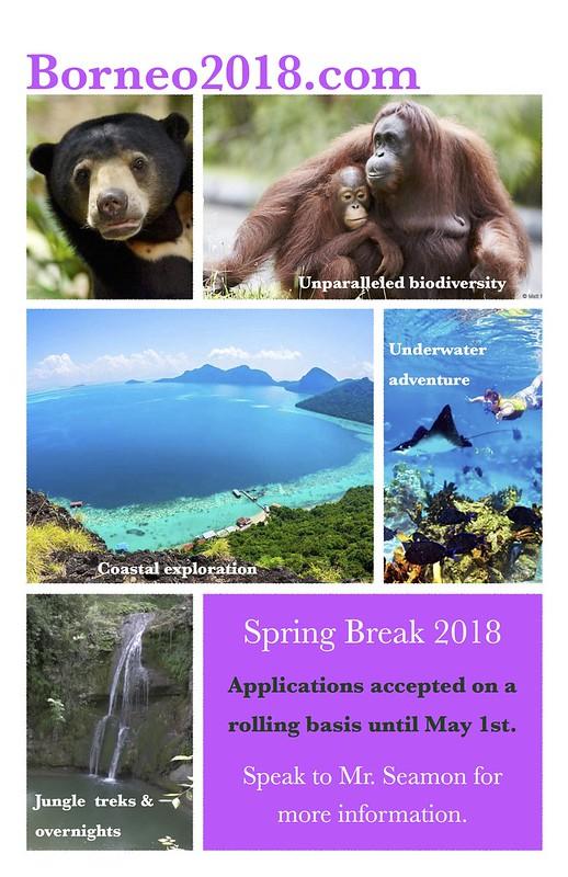 Borneo 2018 Launch Poster