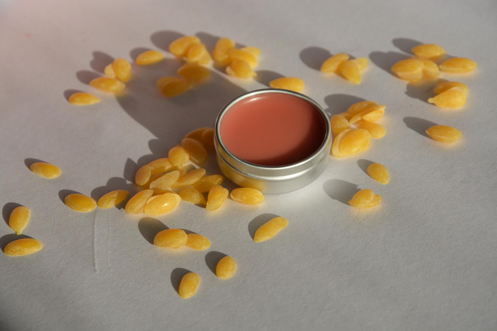 Spring lip balm