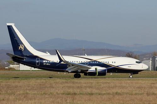 VP-BAJ , Boeing 737-77Z(BBJ) , LFSB