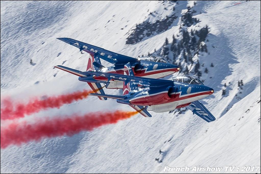 Patrouille de France Meribel Aerosnow