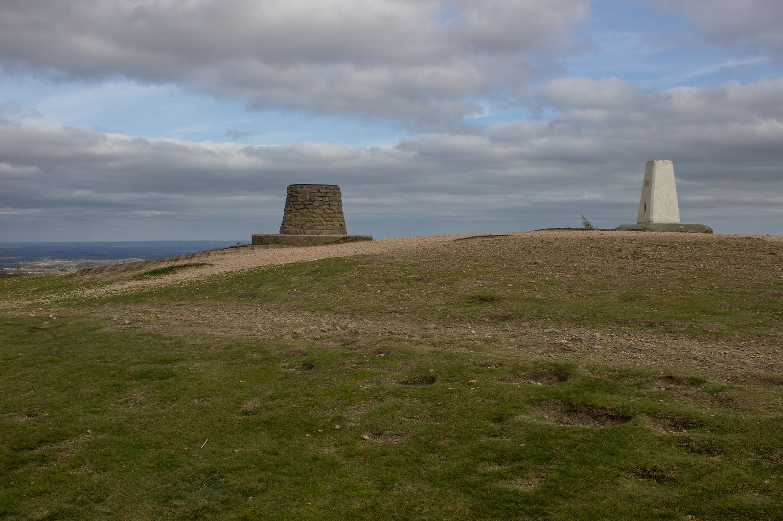 The summit of The Wrekin