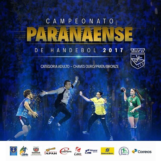 2017 Campeonato Paranaense de Hanebol / 2017