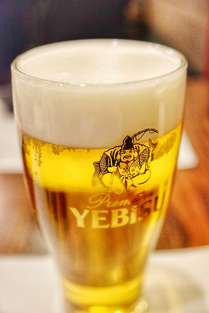 draft beer YEBISU
