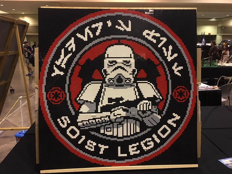 LEGO Displays at Star Wars Celebration