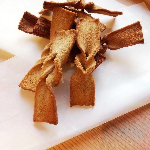 高野豆腐ラスク ミルクティー風味