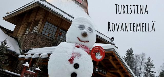 Turistina_Rovaniemella