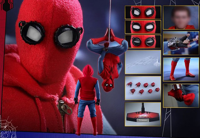 Spider-Man Homecoming Hot Toys