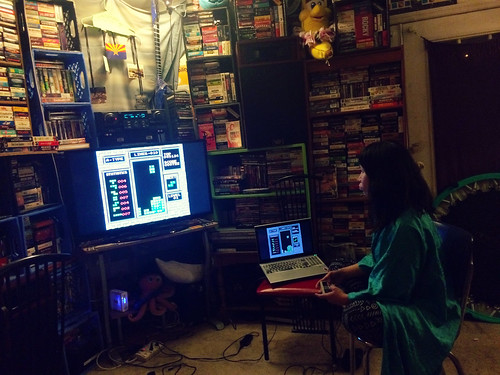 Ana Playing Tetris (March 26 2016)
