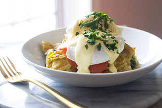 Matzo Brei Eggs Benedict with Lox | by FerraroKitchen1