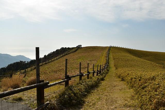 伊豆山稜線歩道 天城牧場